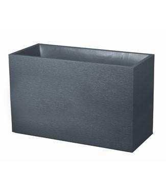 Muret graphit  Gris anthracite L 99.5 x l 39.5 x h 60 116 litres (l)