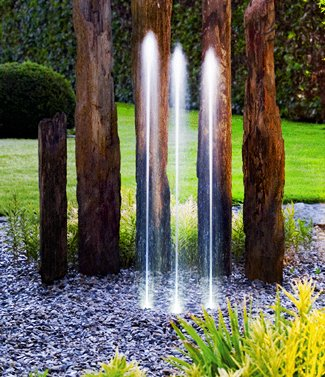 Fontaine télécommandée 3 jets Water Trio