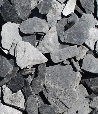 Paillettes d'ardoise 50-100 mm 1200 kg