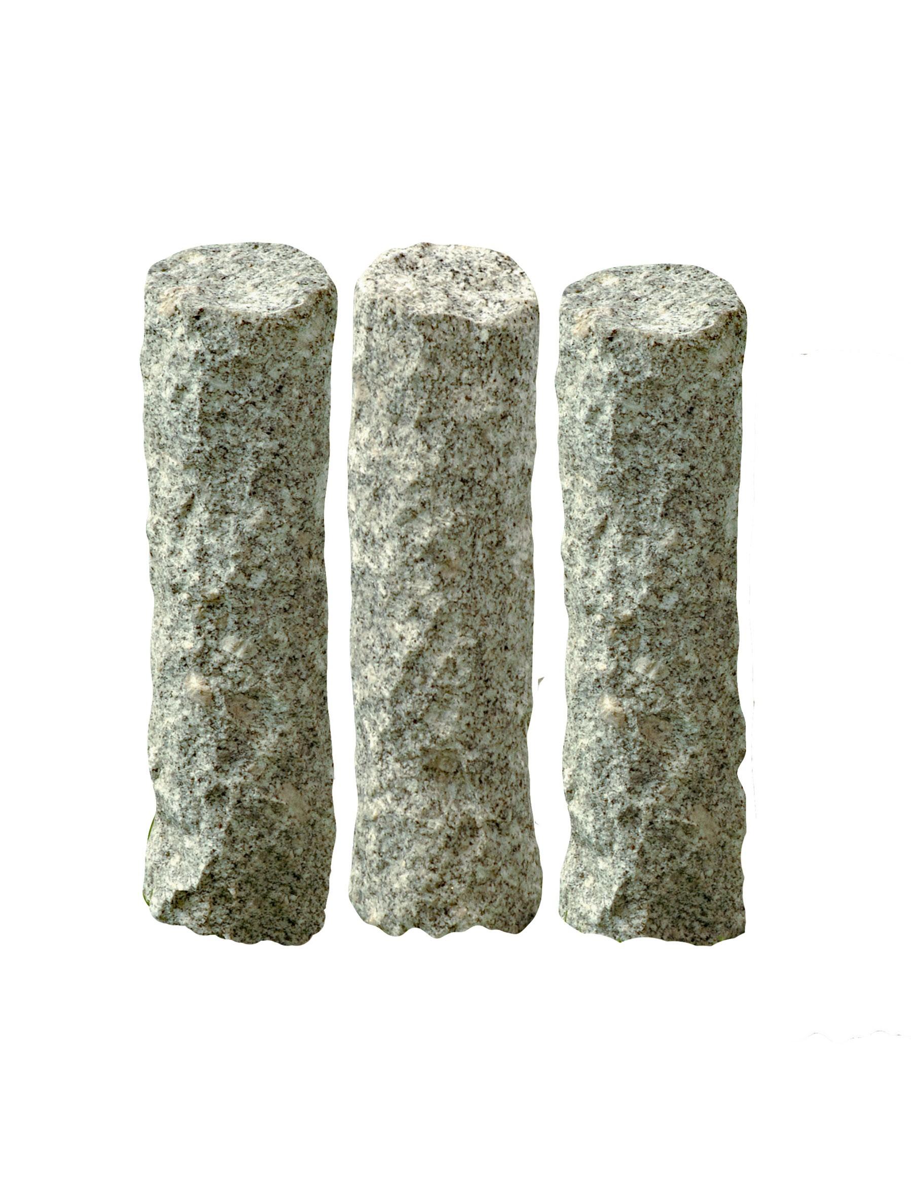 Bordure en granit Palizzata h 30 x Ø 10