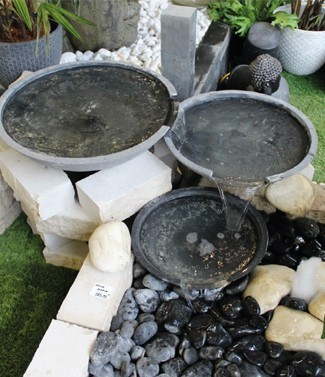 Fontaine vasques cascade