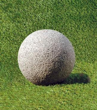 Sphère en granit Ø 20