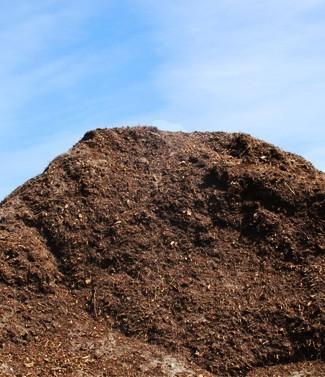 Mélange terre-compost en vrac (1/2 m3) 0.5 mètres cubes (m3)