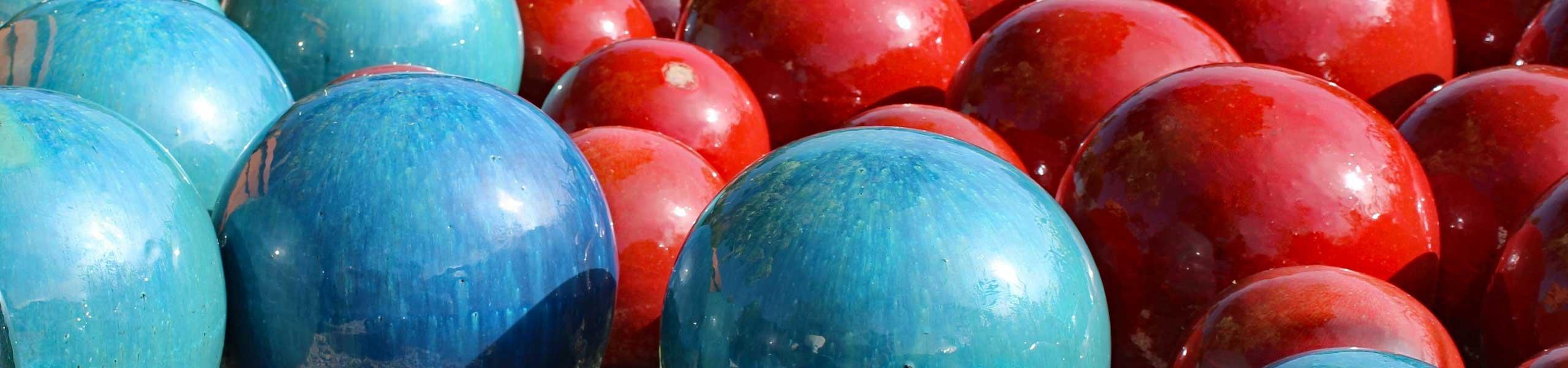Boules en céramique