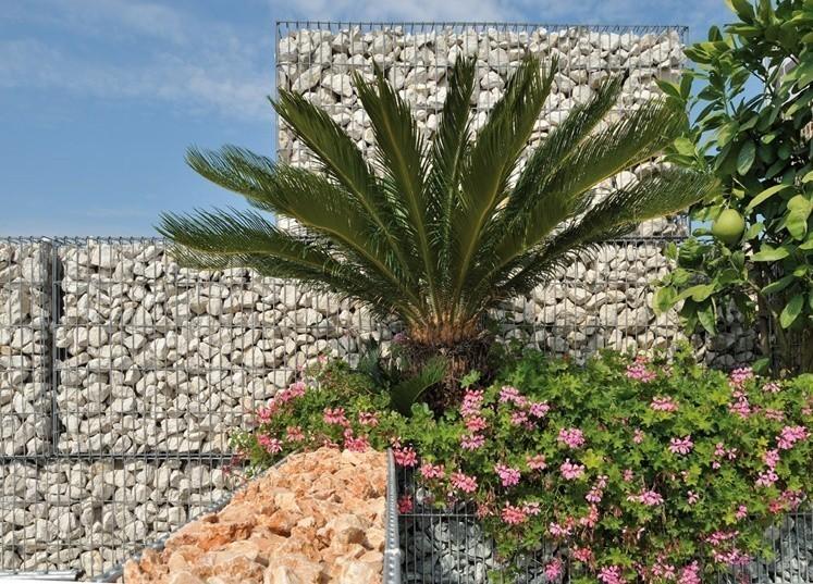 Gabion stonebox pierre concassé