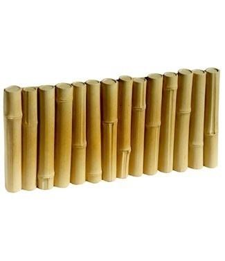 Bordure bambou L 50 x l 4.5 x h 25