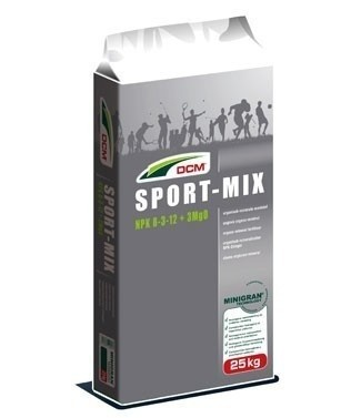 Engrais DCM SPORT-MIX 8/5/12 + 3 MgO 25 kg