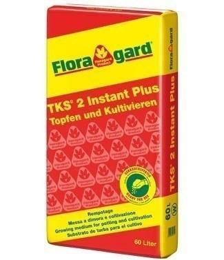Tourbe enrichie Floragard TKS2 60 litres (l)