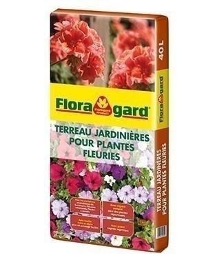 Terreau pour géraniums et plantes fleuries bio 40 litres (l)