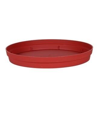 Soucoupe pour pot Toscane Ø 40 cm Rouge rubis Ø 28