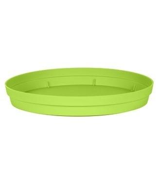 Soucoupe pour pot Toscane Ø 25 cm Vert pistache Ø 18.5