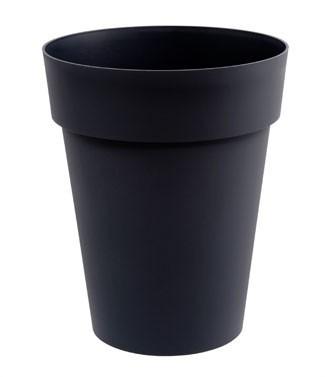 Vase mi-haut Toscane Gris anthracite h 53 x Ø 44 50 litres (l)