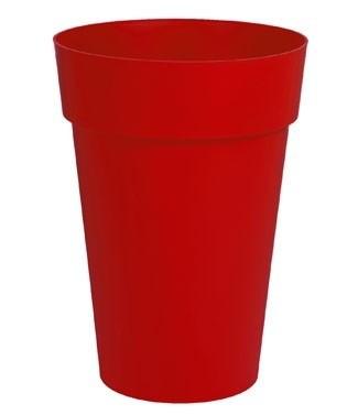 Vase haut Toscane Rouge rubis h 65 x Ø 46 67 litres (l)