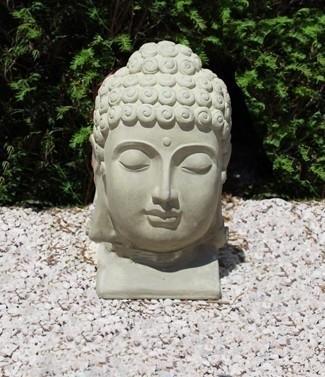 Tête de Bouddha agile h 39