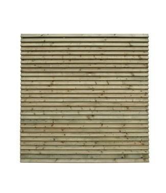 Panneau Lamello en pin traité L 178 x h 180