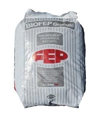 BIOFEP en granulés 1,8/1/1 + 1 25 kg