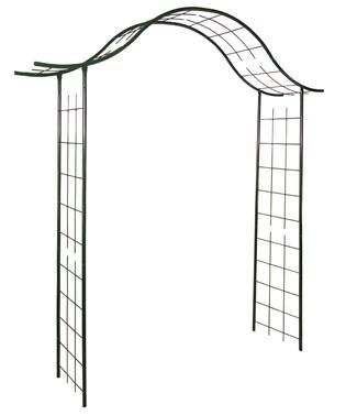 Arche portique en métal Vert sapin L 200 x l 40 x h 250