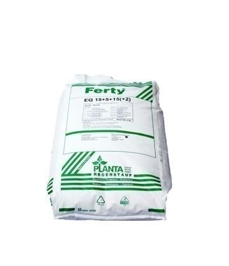 Engrais soluble Ferty® 15/5/15 + 2 + OE 25 kg