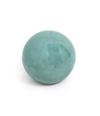 Boule en céramique bleu azur Ø 17 2 kg