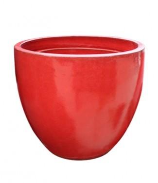 Pot Hercules Rojo h 25 x Ø 28