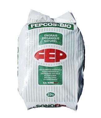 Engrais organique FEPCOS 10/5/0 25 kg
