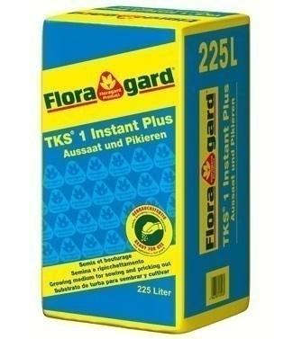 Tourbe enrichie Floragard TKS1 225 litres (l)