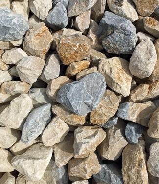 Calcaire concassé pour gabions 80-150 mm 1000 kg