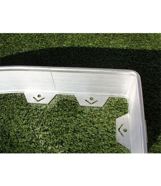 Volige Prestige d'angle en aluminium + 3 sardines 30 cm
