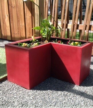 Jardinière Balinéo avec 2  bacs amovibles L 116 x l 36 x h 45 84 litres (l) 19 kg