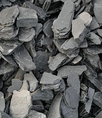 Blocs d'ardoise 40 cm 1200 kg