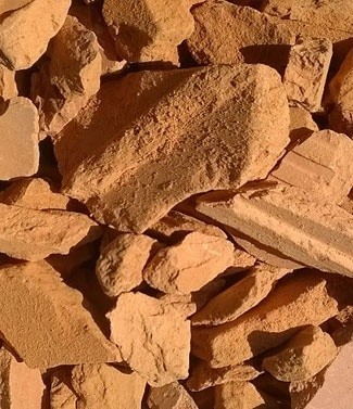 Brique concassée 15-25 mm 1200 kg