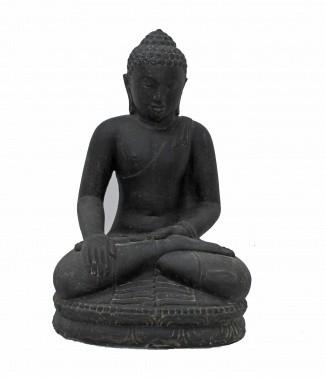 """Bouddha assis """"F"""" L 28 x l 22 x h 45"""