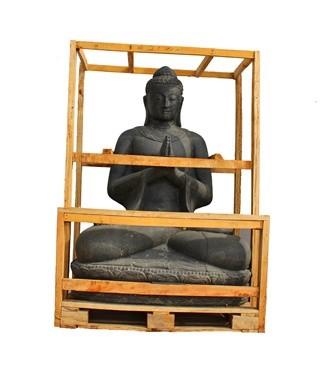 Bouddha assis  L 107 x l 78 x h 150