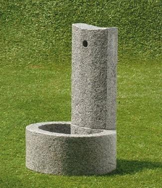 Fontaine granito Totem L 40 x l 46 x h 70