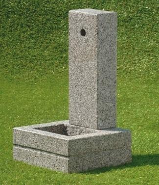 Fontaine granito Quadra L 40 x l 38 x h 70