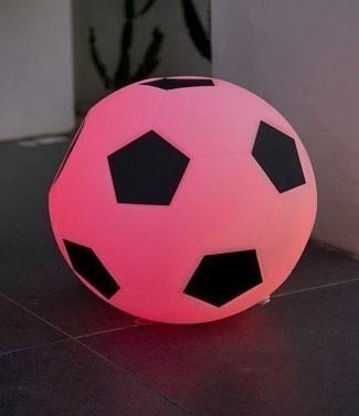 Ballon de foot lumineux couleur changeante sans fil Footy Ø 40