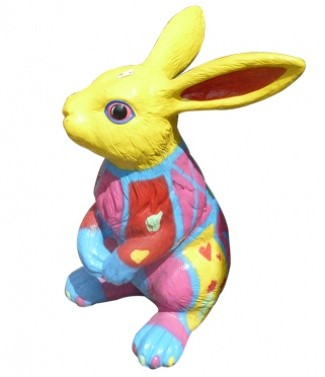 Lapin colore h 115