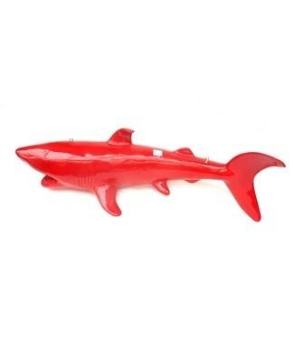 Requin rouge L 300 x h 75