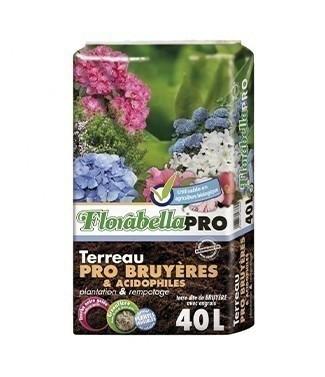 Terreau Florabella Pro bruyère/acidophile 45 litres (l)