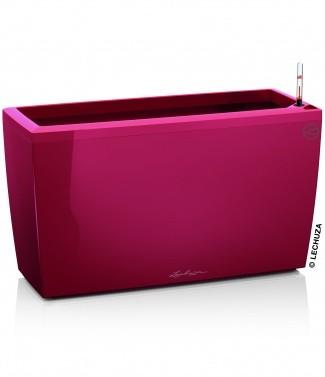 Pot d'intérieur Cararo avec kit complet Rouge scarlet brillant L 75 x l 30 x h 43 52 litres (l)