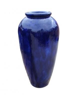 Urn sumba  Bleu h 113 x Ø 60