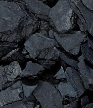 Ardoise noire 'slate piatta nera' 10-30 mm 25 kg