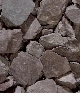 Ardoise violette 'slate piatta viola' 10-30 mm 25 kg