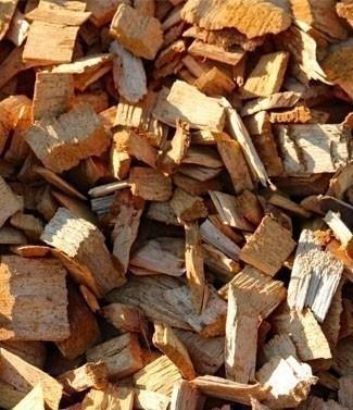 Plaquettes de bois blanc 0-40 mm 1000 litres (l)