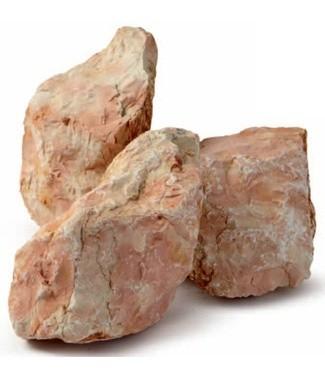 Gravier de marbre concassé Rosa corallo 30-50 mm 25 kg