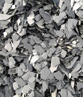Paillettes d'ardoise 10-20 mm 25 kg