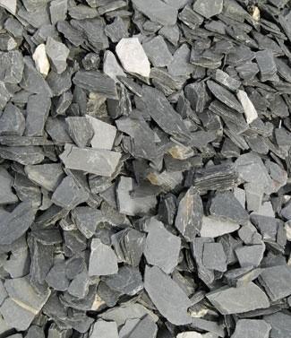 Paillettes d'ardoise 30-70 mm 25 kg