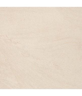 Dalle en grès cérame Stonetrack Stone Ivory L 60 x l 60
