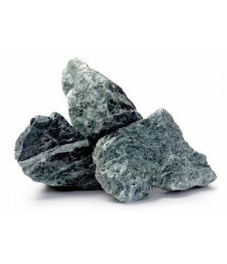 Gravier de marbre concassé Verde alpi 50-70 mm 25 kg