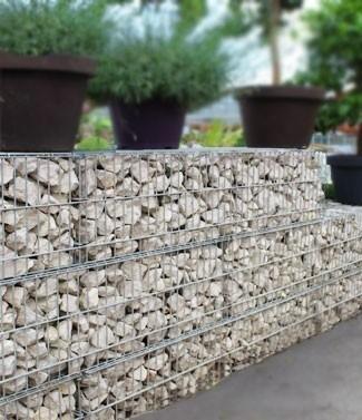 Stonebox® plein Bianco Carrara L 50 x l 50 x h 50